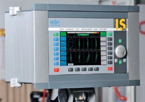 Вихретоковый дефектоскоп для автоматизированного контроля ELOTEST IS500