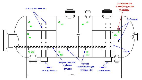 Схема теплообменника с